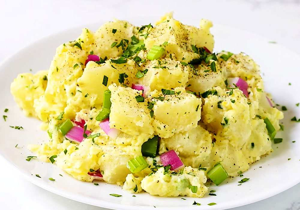 Американский картофельный салат - пошаговый рецепт, фото 1
