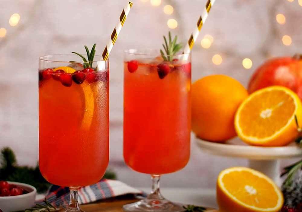 Апельсиновый пунш с ромом - пошаговый рецепт, фото 1