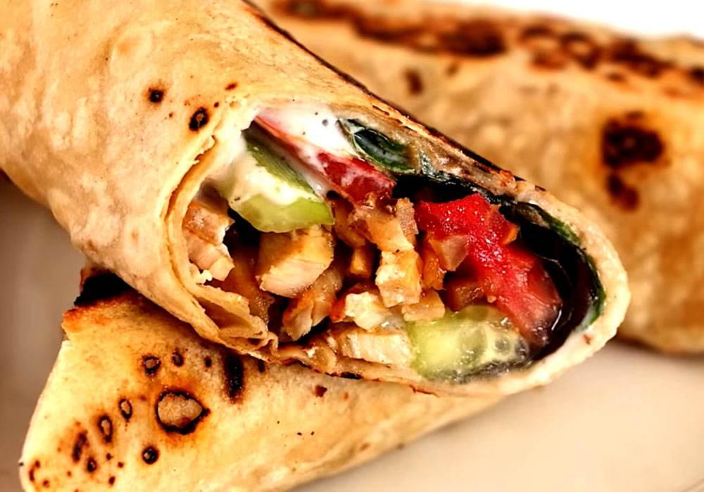 Арабская шаурма - пошаговый рецепт, фото 1