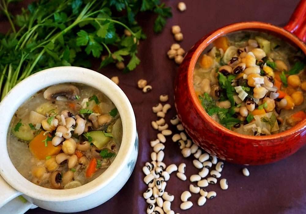 Армянский суп с фасолью - пошаговый рецепт, фото 1