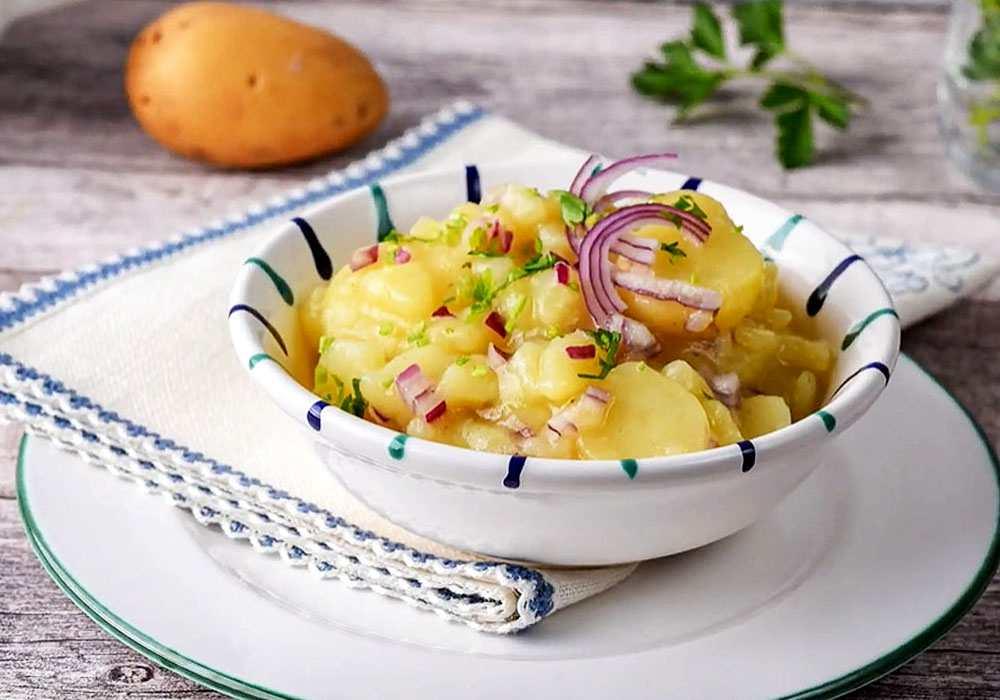 Австрийский салат - пошаговый рецепт, фото 1