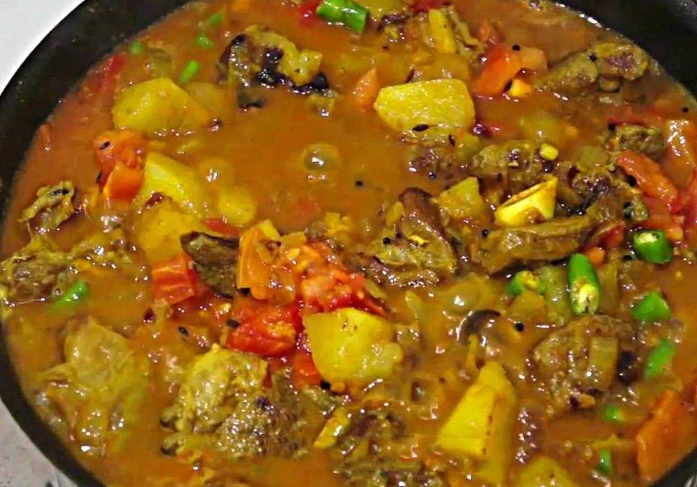 Азу из баранины - пошаговый рецепт, фото 1