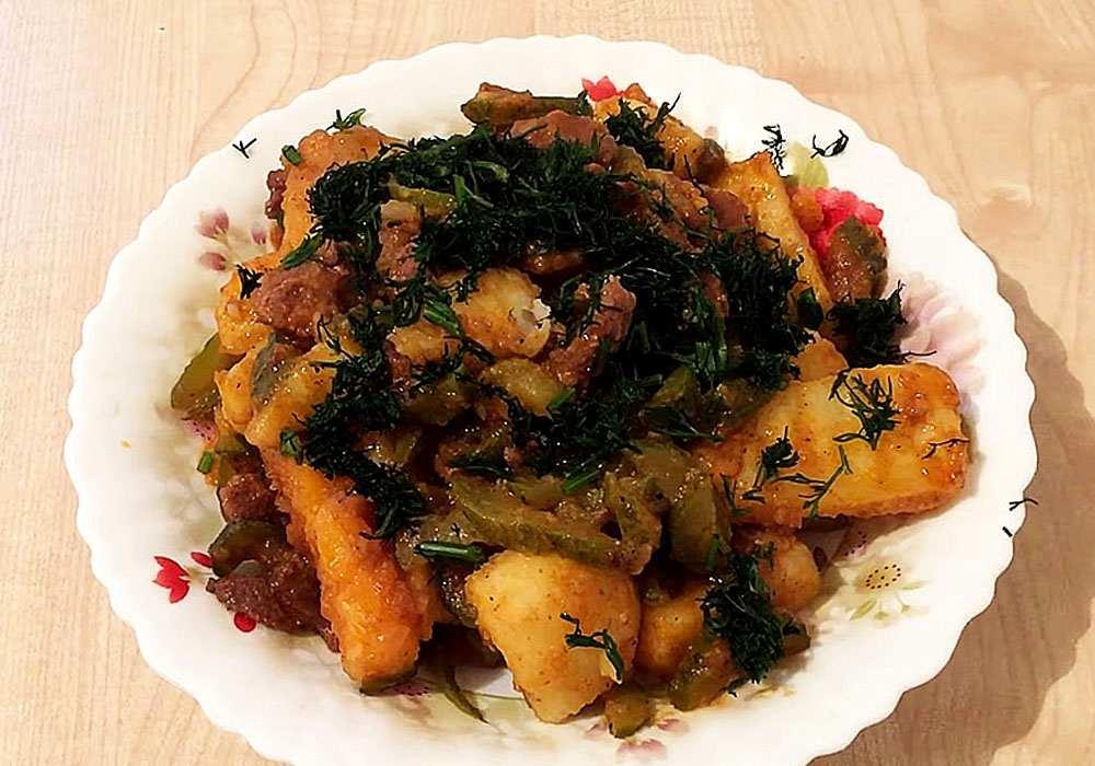 Азу по-татарськи - покроковий рецепт, фото 1