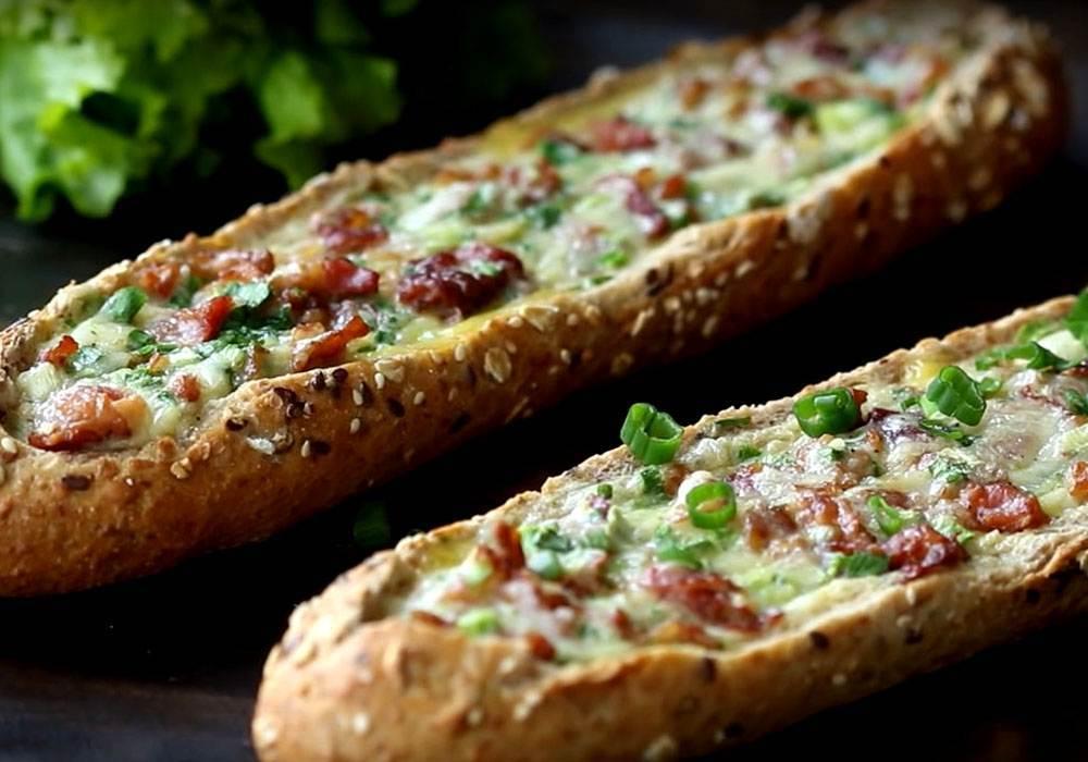 Багет с начинкой - пошаговый рецепт, фото 1