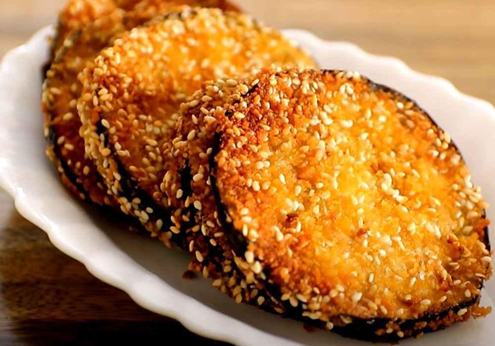 Баклажаны, жаренные в кляре, быстро и просто - пошаговый рецепт, фото 1