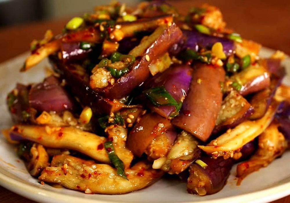Баклажаны по корейски - пошаговый рецепт, фото 1