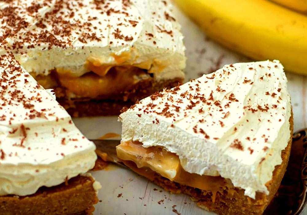Банановий пиріг до чаю - покроковий рецепт, фото 1