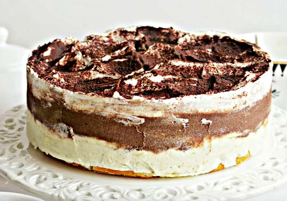 Банановий торт без випічки з печива - покроковий рецепт, фото 1
