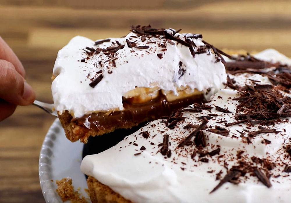 Банановий пиріг - покроковий рецепт, фото 1