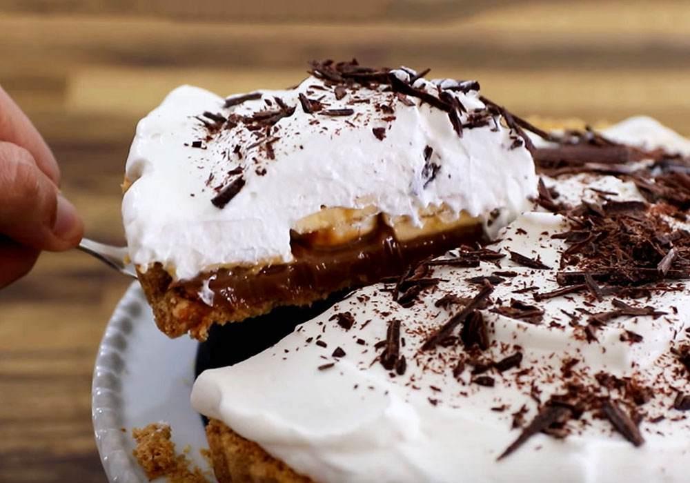 Банановый пирог - пошаговый рецепт, фото 1