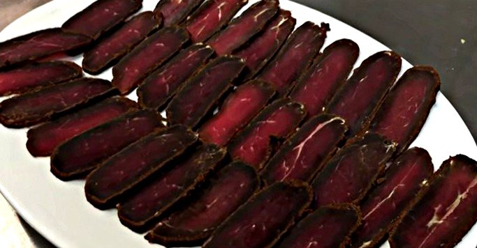 Бастурма из говядины - пошаговый рецепт, фото 1