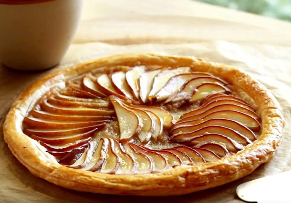 Баварский грушевый пирог - пошаговый рецепт, фото 1