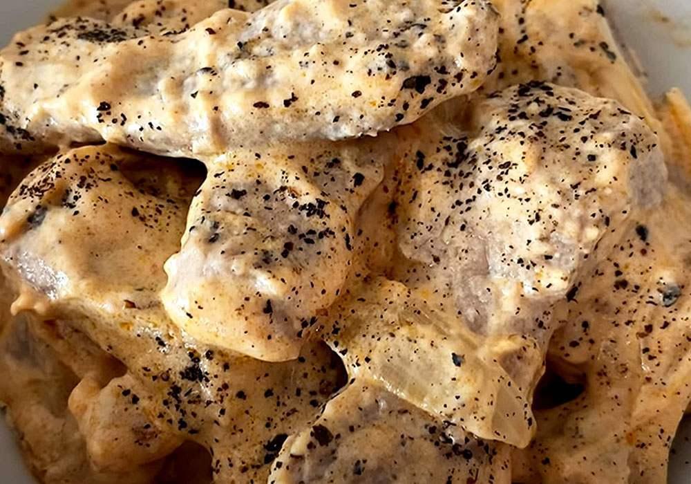 Бефстроганов з яловичини - покроковий рецепт, фото 1