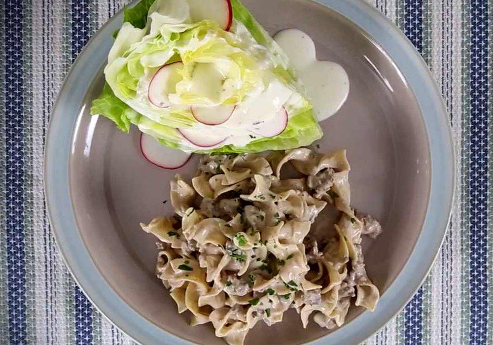 Бефстроганов со сметаной - пошаговый рецепт, фото 1