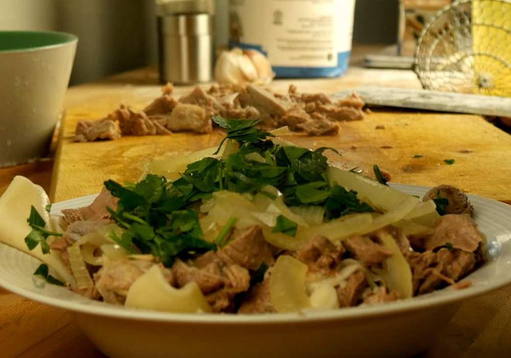 Бешбармак из баранины - пошаговый рецепт, фото 1