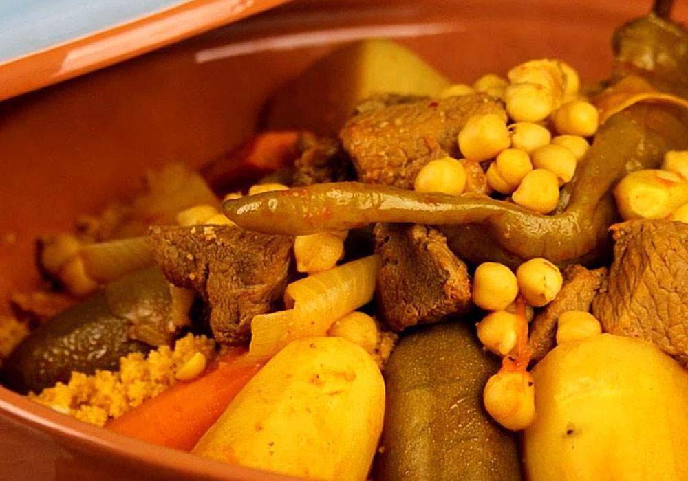 Бил меслен Кус- кус по Тунисски - пошаговый рецепт, фото 1