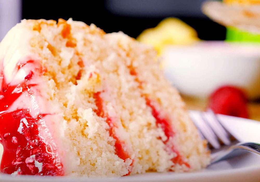 Бісквітний торт «Ніжний» - покроковий рецепт, фото 1