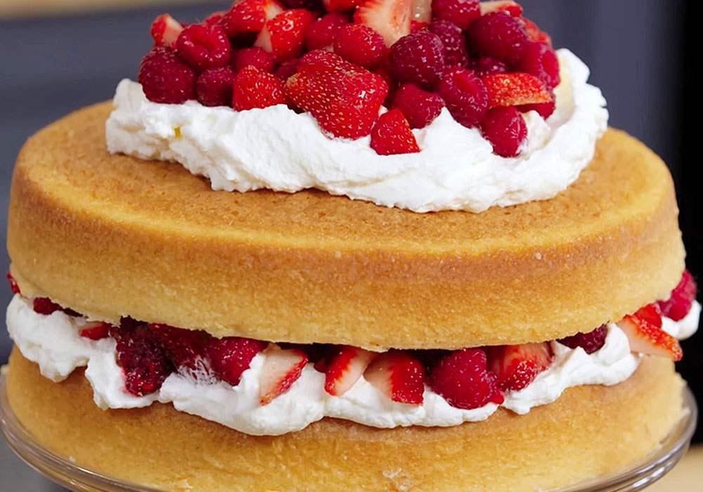 Бісквітний торт Єлизавета - покроковий рецепт, фото 1
