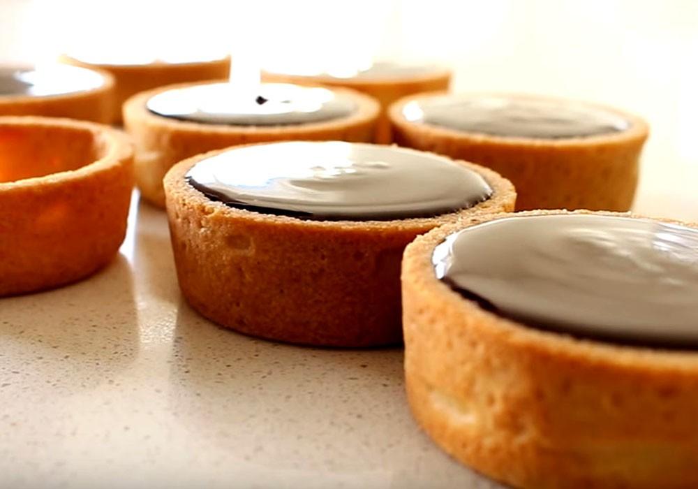 Бисквитные корзиночки (универсальные) - пошаговый рецепт, фото 1