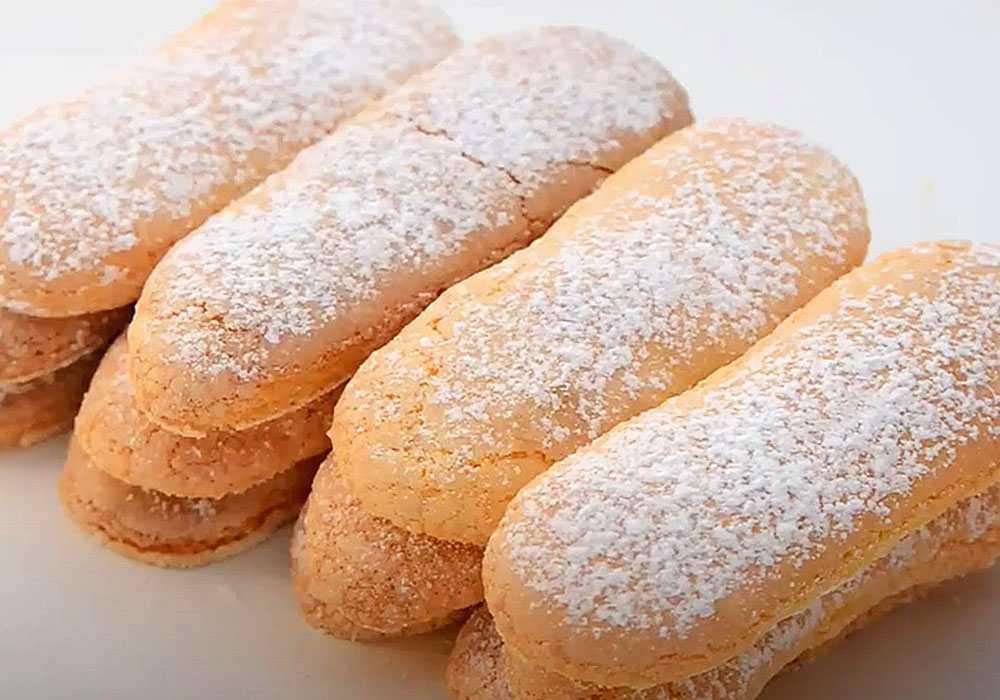Бисквитное печенье Савоярди - пошаговый рецепт, фото 1