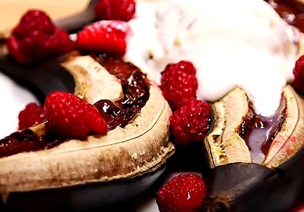 """Быстрый десерт """"Бананы в шоколаде"""" - пошаговый рецепт, фото 1"""