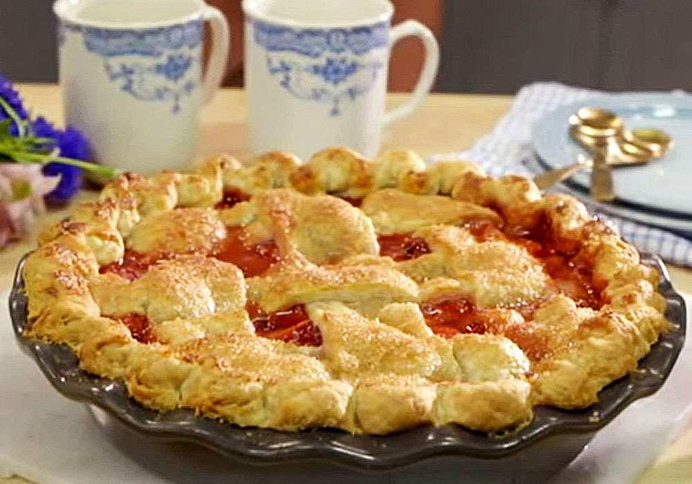 Швидкий полуничний пиріг - покроковий рецепт, фото 1