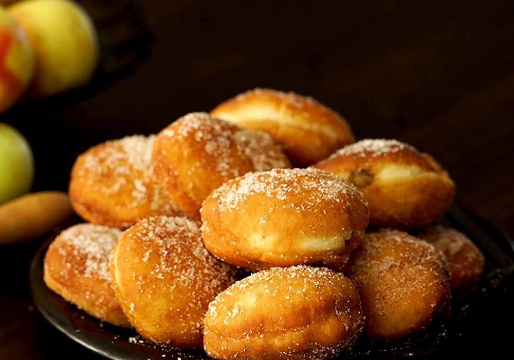 Быстрые пончики жареные в масле - пошаговый рецепт, фото 1