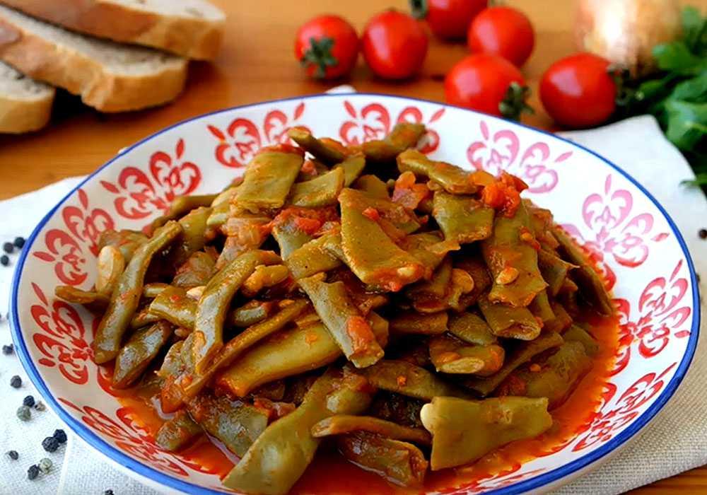 Бобы в соусе - пошаговый рецепт, фото 1