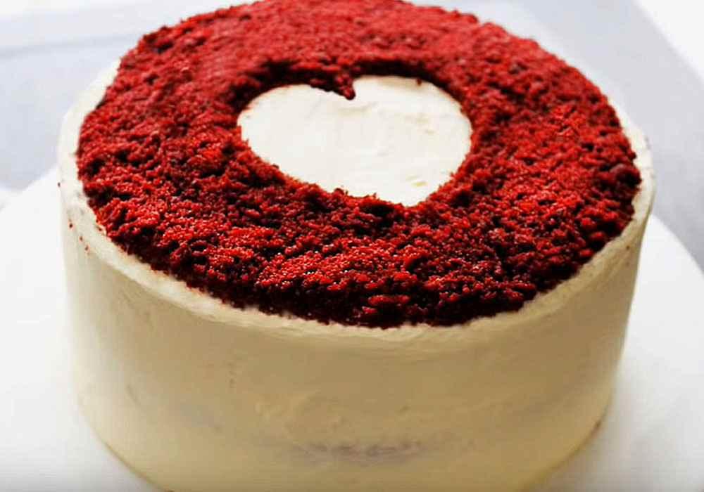 Большой праздничный торт - пошаговый рецепт, фото 1