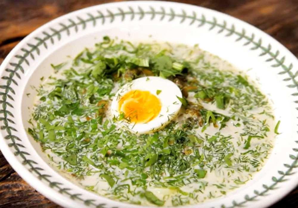 Борщ с щавелем и яйцом - пошаговый рецепт, фото 1