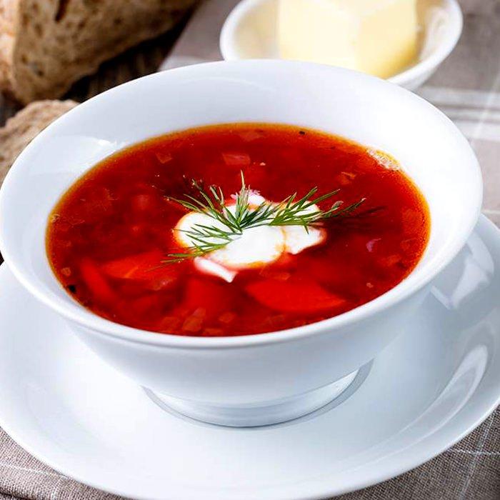 """Борщ """"Традиционный"""" - пошаговый рецепт, фото 1"""