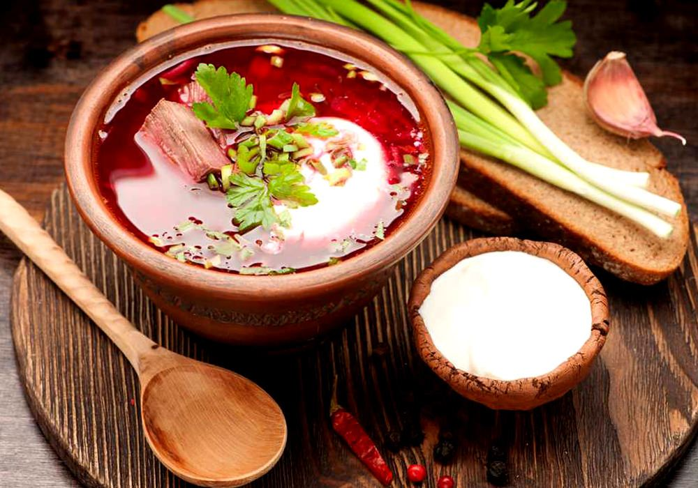 Борщ с томатной пастой - пошаговый рецепт, фото 1