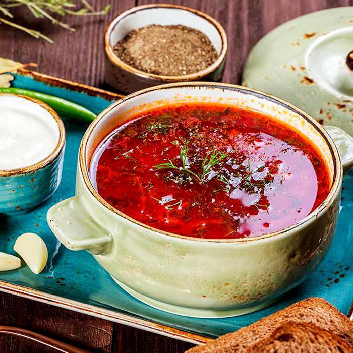 Борщ з буряком і капустою - покроковий рецепт, фото 1