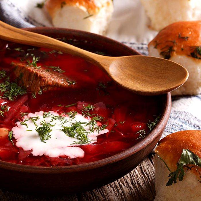Борщ украинский красный - пошаговый рецепт, фото 1