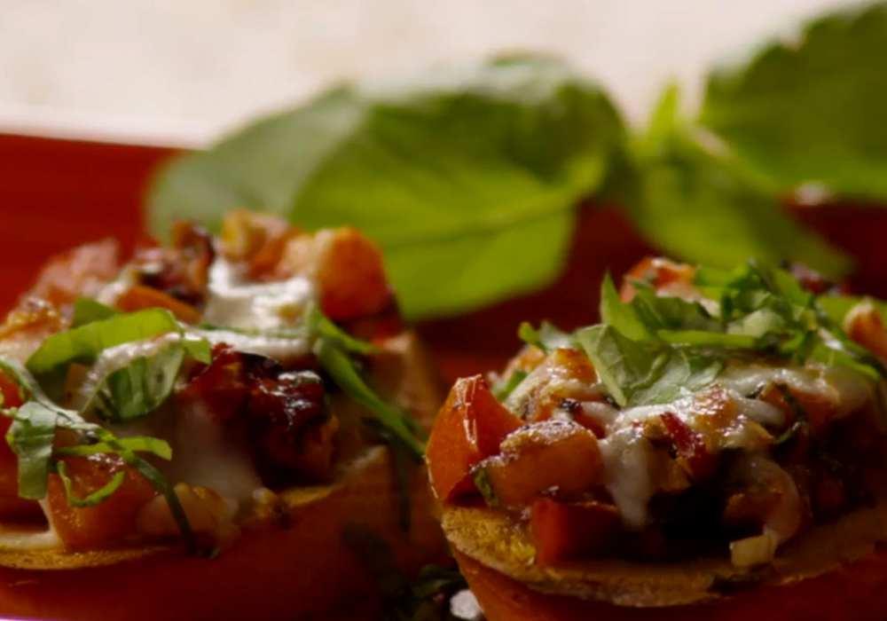 Брускетта с помидорами - пошаговый рецепт, фото 1