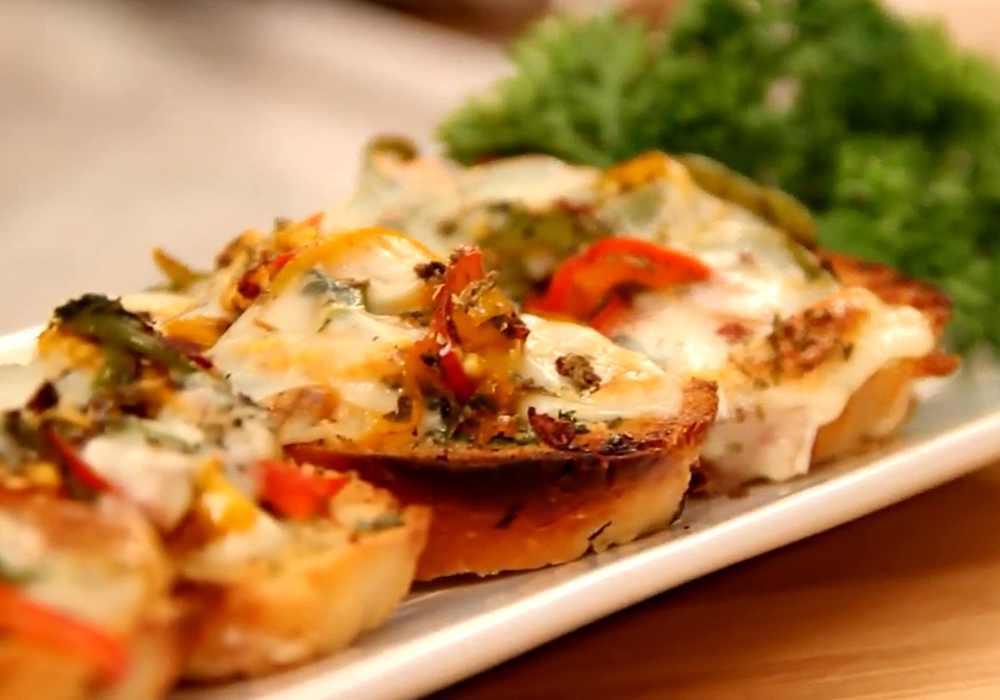 Брускетта с сыром - пошаговый рецепт, фото 1