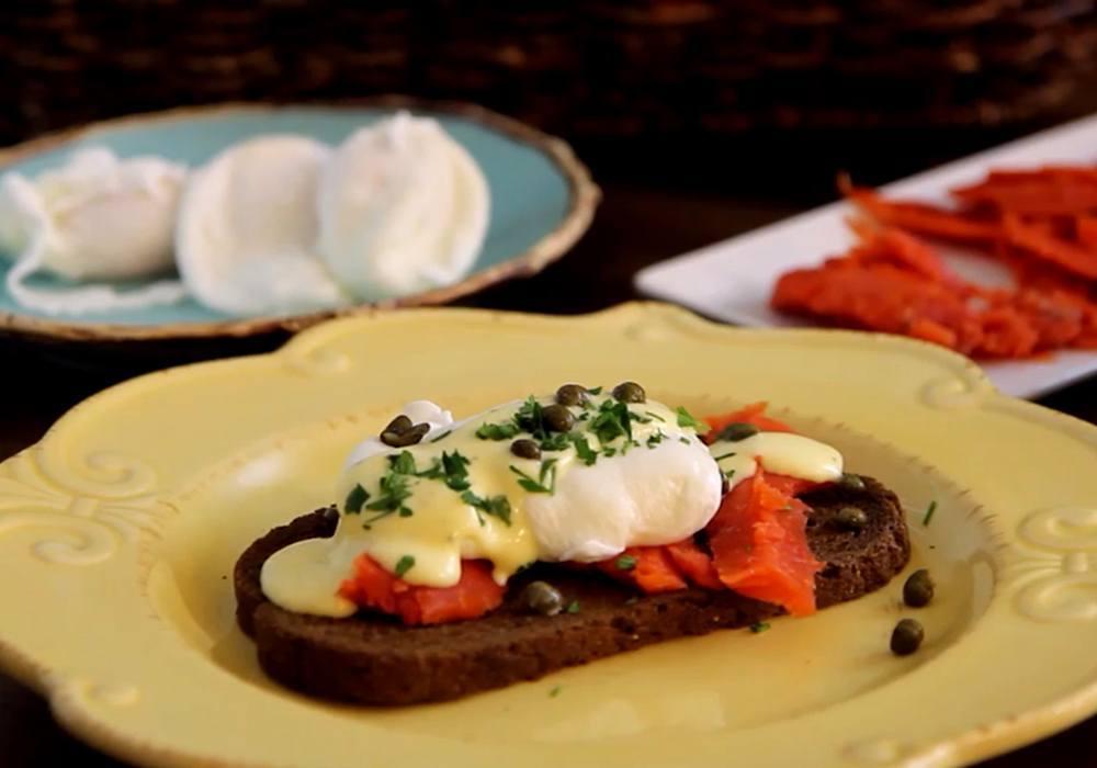 Брускетта с яйцом пашот - пошаговый рецепт, фото 1