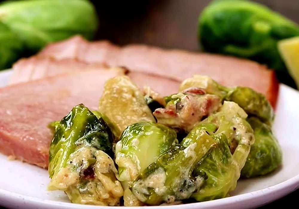 Брюссельская капуста под соусом - пошаговый рецепт, фото 1