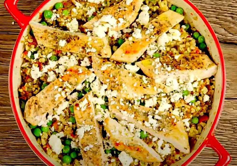 Булгур с курицей и овощами - пошаговый рецепт, фото 1
