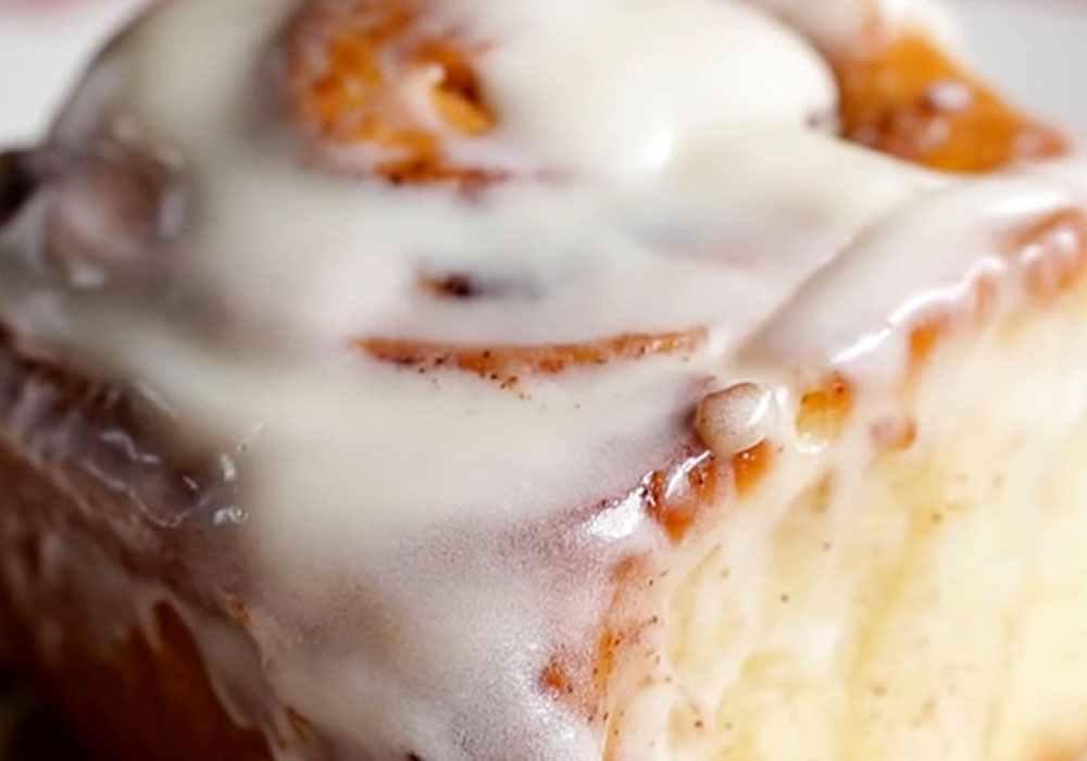 Булочки с корицей в сахарной глазури - пошаговый рецепт, фото 1