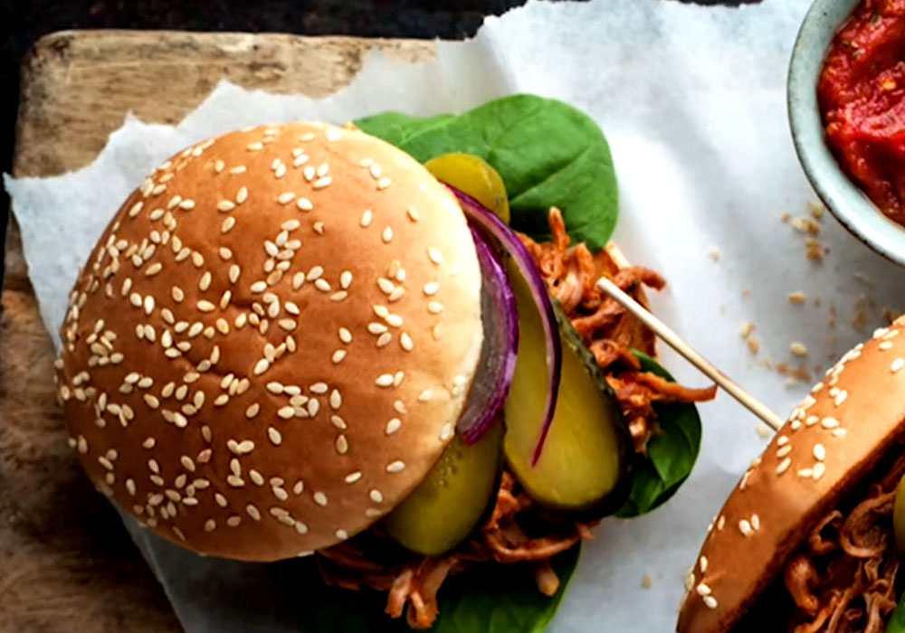 Бургер з бужениною - покроковий рецепт, фото 1