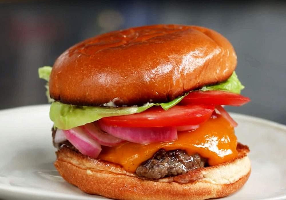 Бургер с говядиной - пошаговый рецепт, фото 1