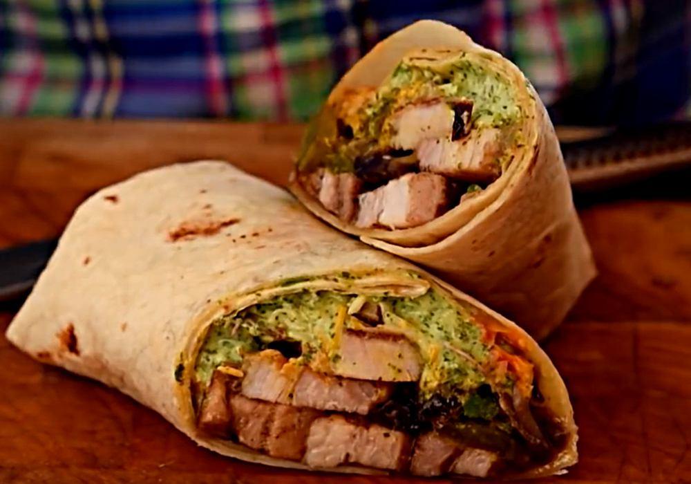 Буріто зі свининою і овочами - покроковий рецепт, фото 1