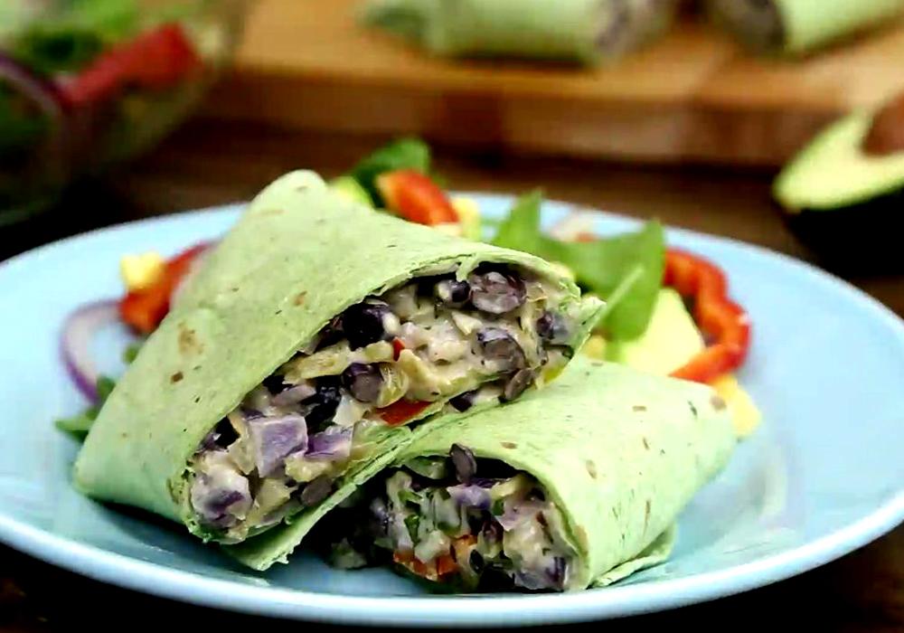 Буріто з овочами - покроковий рецепт, фото 1