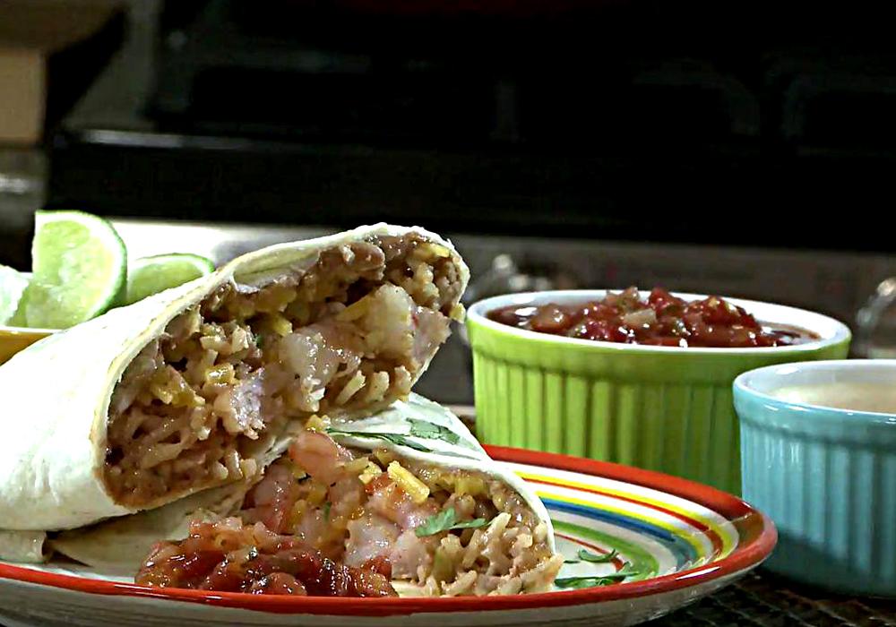 Буррито с рисом - пошаговый рецепт, фото 1