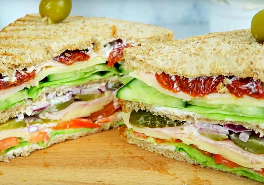 Бутерброд з шинкою - покроковий рецепт, фото 1