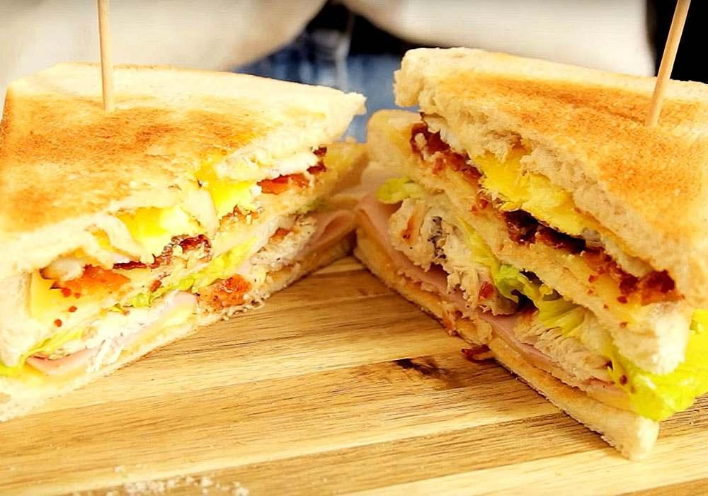 Бутерброд з яйцем - покроковий рецепт, фото 1