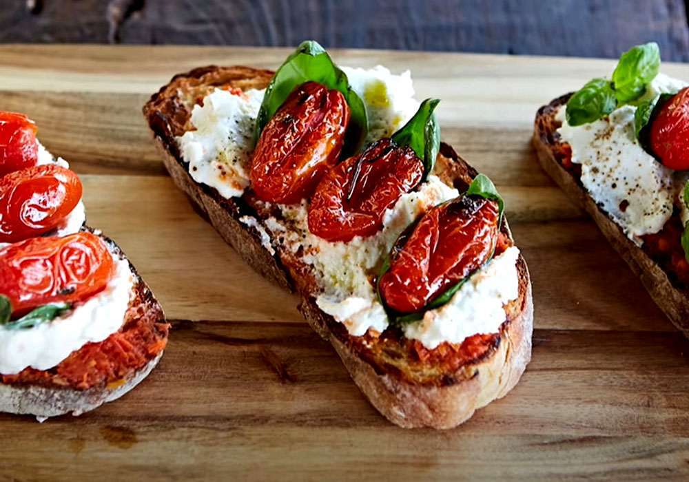 Бутерброди з бринзою - покроковий рецепт, фото 1