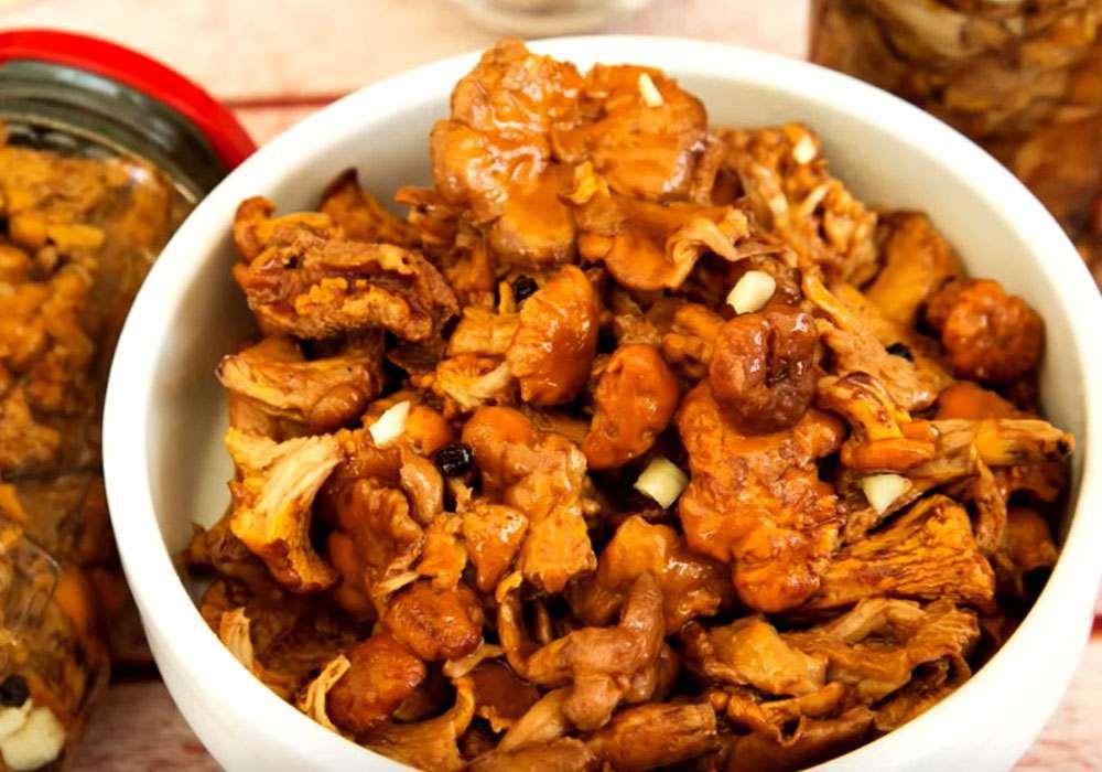 Быстрые маринованные грибы - пошаговый рецепт, фото 1