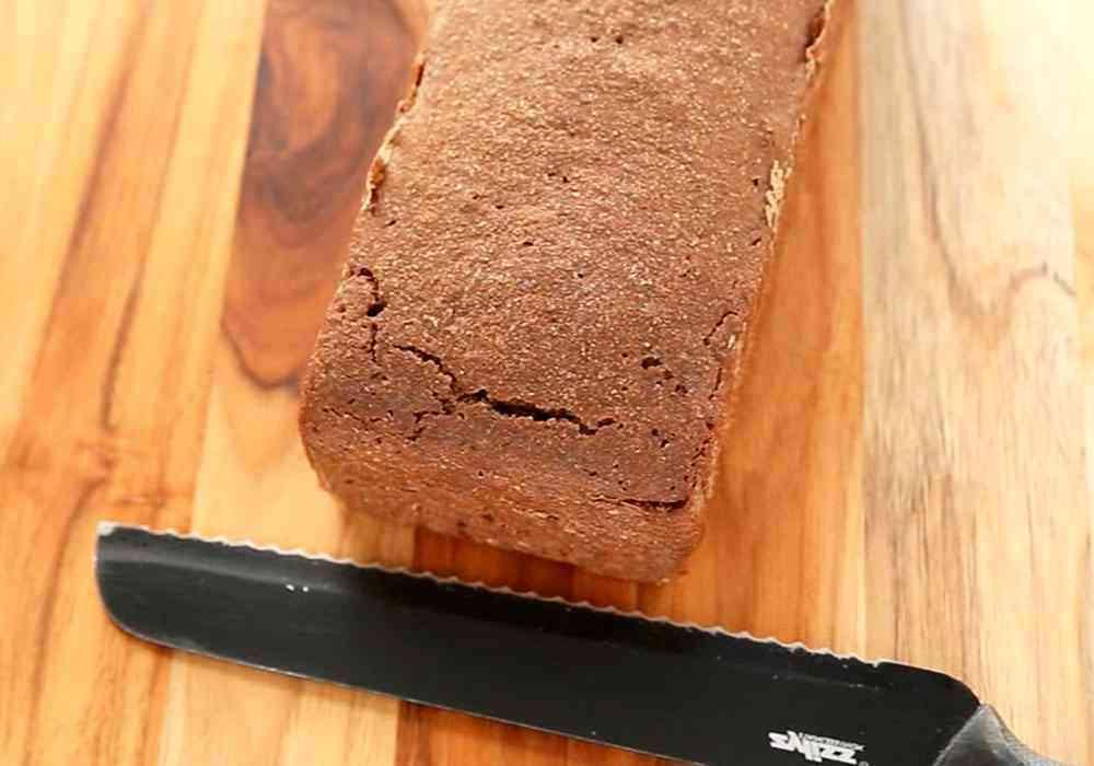 Черный хлеб из ржаной и пшеничной муки в духовке - пошаговый рецепт, фото 1